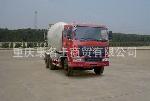 华神DFD5254GJB1混凝土搅拌运输车ISLe340东风康明斯发动机