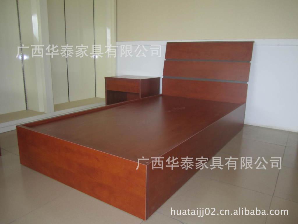 【家具直销简约现代板式床家具木式工厂卧室时尚梦厂家图片