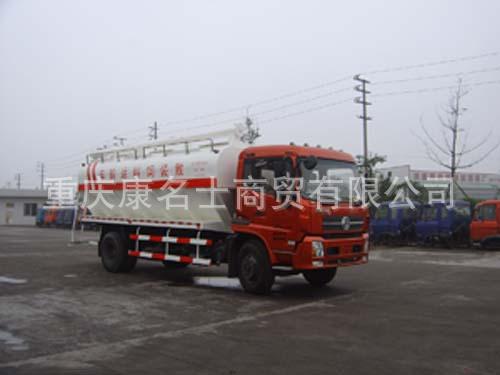 川牧CXJ5160ZSL4散装饲料运输车ISDe180东风康明斯发动机
