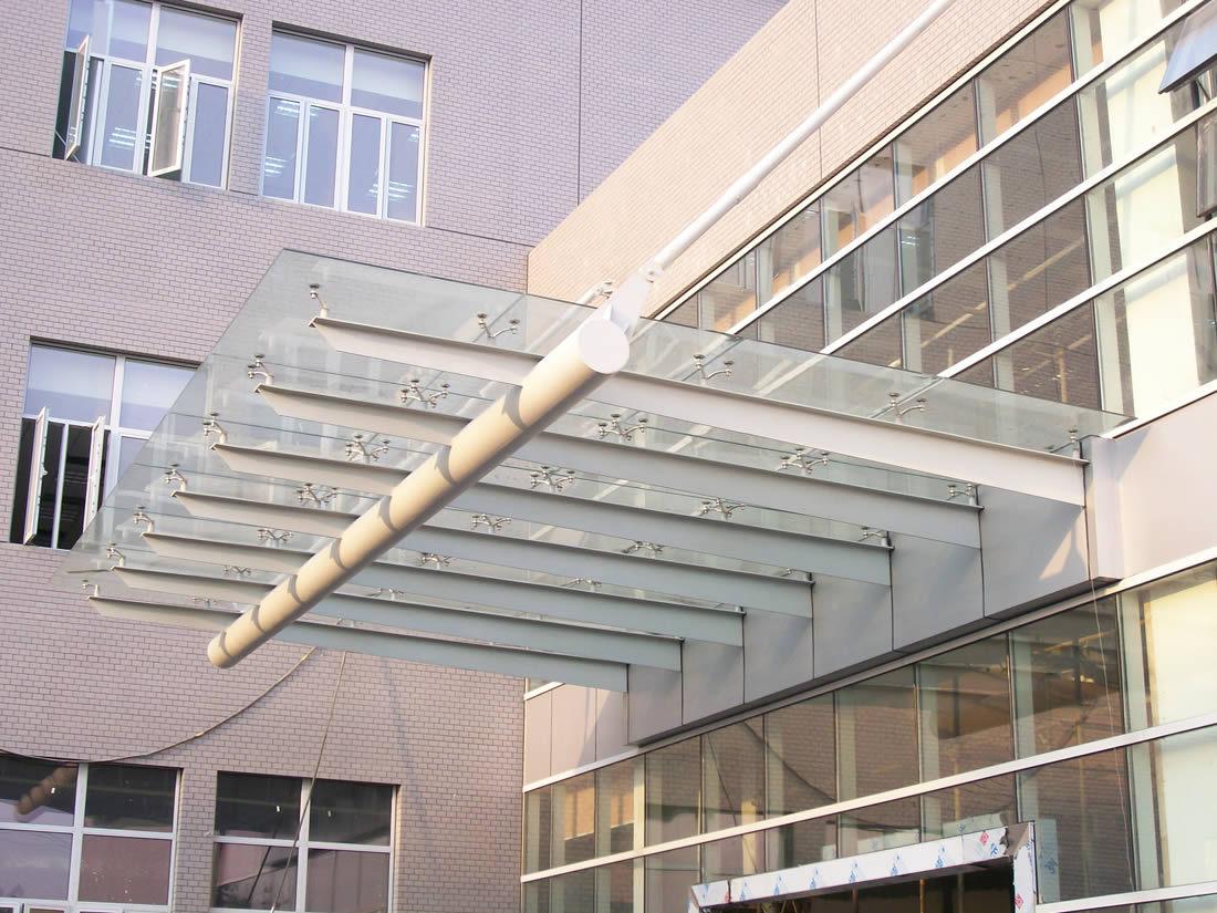 雨棚;玻璃雨棚 汽车棚 钢结构雨棚