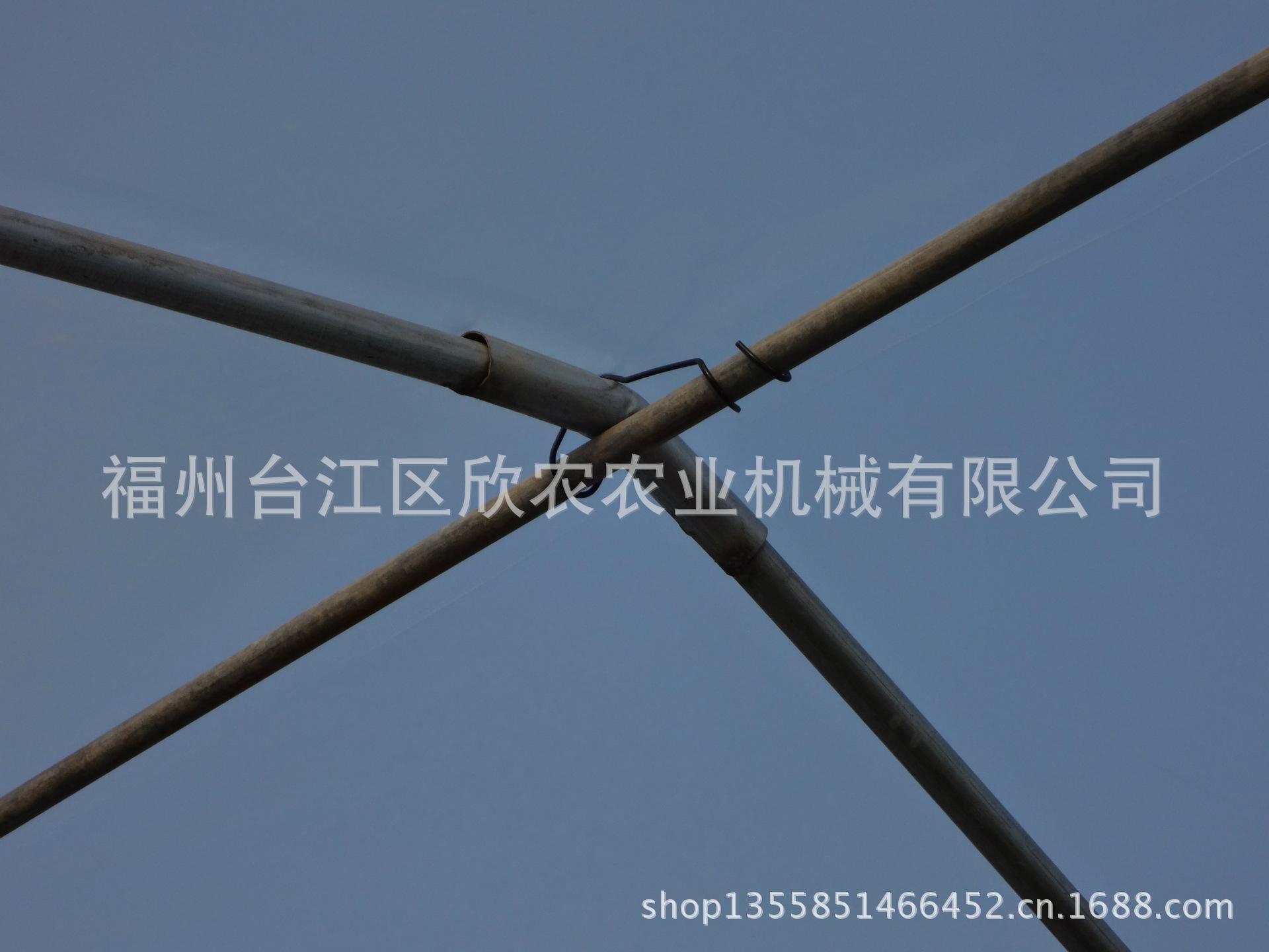 【厂家喷塑温室大棚配件烤漆直销压顶簧视频钢丝尾纤图片