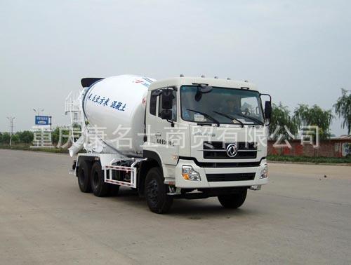 中集ZJV5251GJBHJDF混凝土搅拌运输车ISLe375东风康明斯发动机