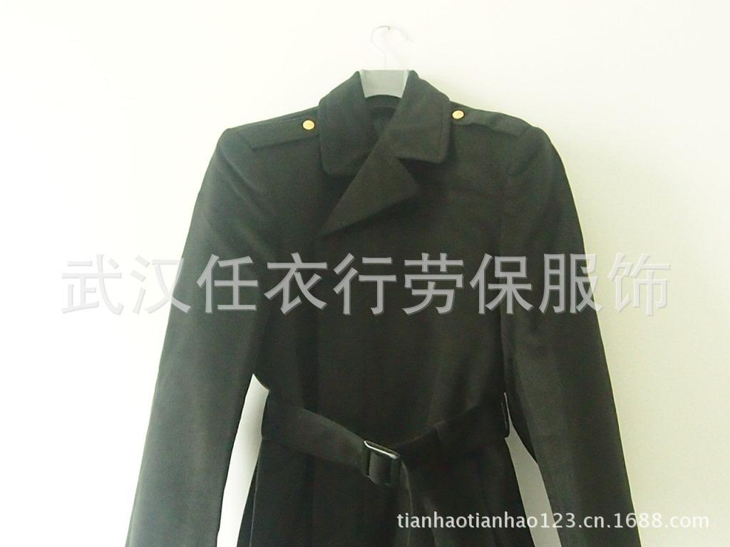 07新式男女军官常服羊绒大衣 干部呢子大衣 军大衣 正品批发图片,07图片