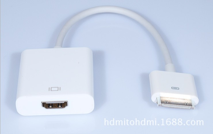 【ipad to HDMI adapter 苹果高清线 视频线 HD