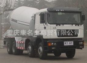 陕汽SX5314GJBDR306C混凝土搅拌运输车ISM340西安康明斯发动机