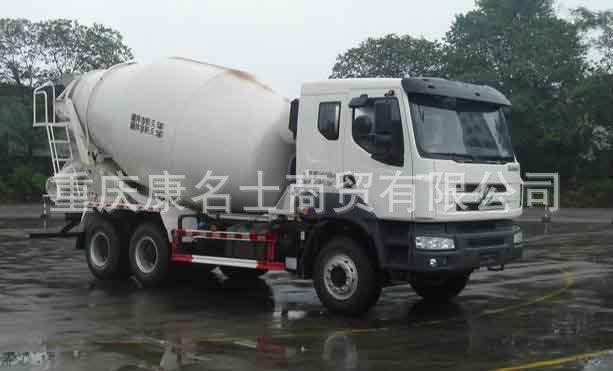 乘龙LZ5250GJBPDHA混凝土搅拌运输车ISLe340东风康明斯发动机