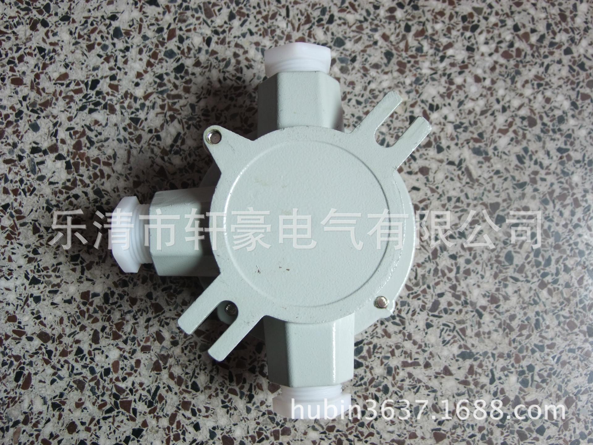 厂家直销 AH (灰色)4分 1/2 DN15 防爆三通接线盒