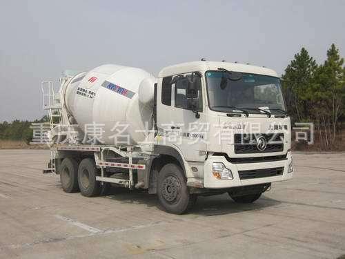 华建HDJ5256GJBDF,混凝土搅拌运输车ISLe340东风康明斯发动机