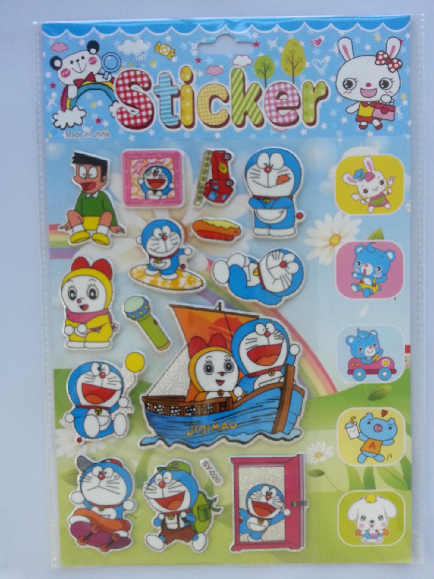 卡通贴纸 批发 儿童卡通贴纸 卡通贴画 儿童 韩国 阿里巴巴