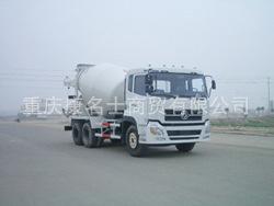 龙帝SLA5258GJB混凝土搅拌运输车L340东风康明斯发动机