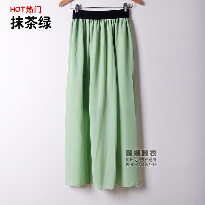 1305长裙抹茶绿