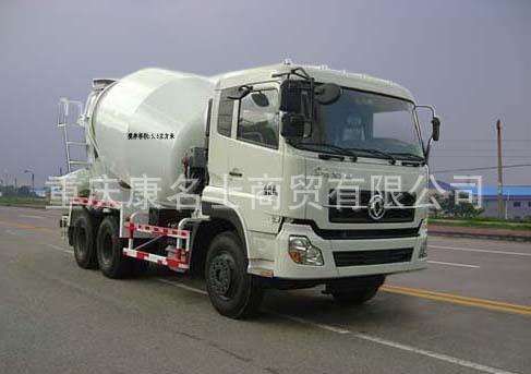 华通HCQ5252GJBT3混凝土搅拌运输车ISLe340东风康明斯发动机
