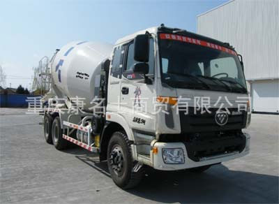 欧曼BJ5253GJB-2混凝土搅拌运输车ISME385 30西安康明斯发动机