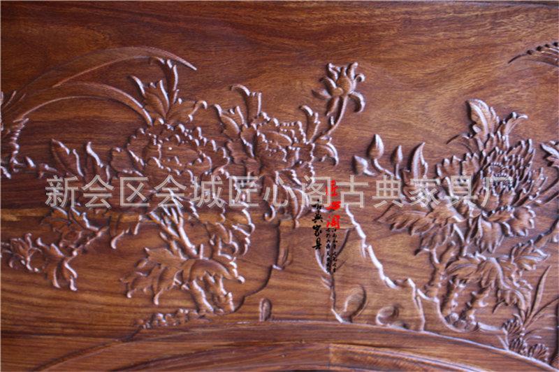 长期供应 刺猬紫檀仿古中式家具茶台 时尚精美茶桌茶台 -仿古家具 长