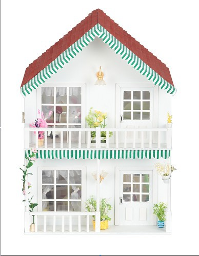 外部欧式风格田园华丽的屋顶及门框
