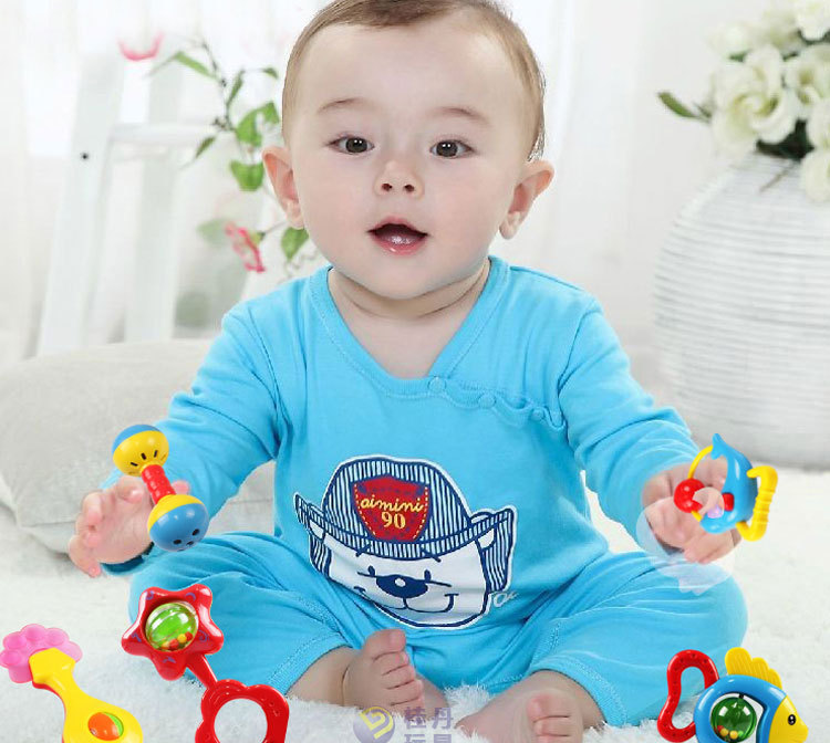 【新生儿 益智玩具摇铃 婴儿手摇铃 宝宝儿童玩