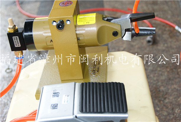 台湾闽利气动台式气动剪刀/奶咀钳 夹线钳可调气剪 气动剪