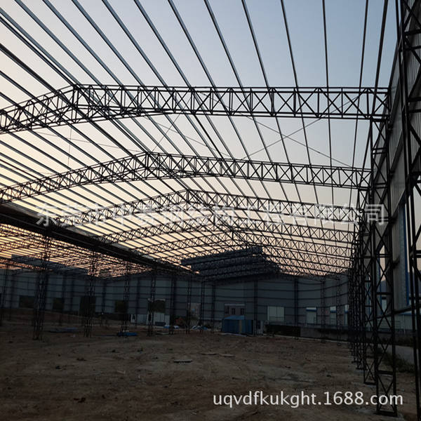中赛钢结构工程有限公司承接铁棚工程施工图90