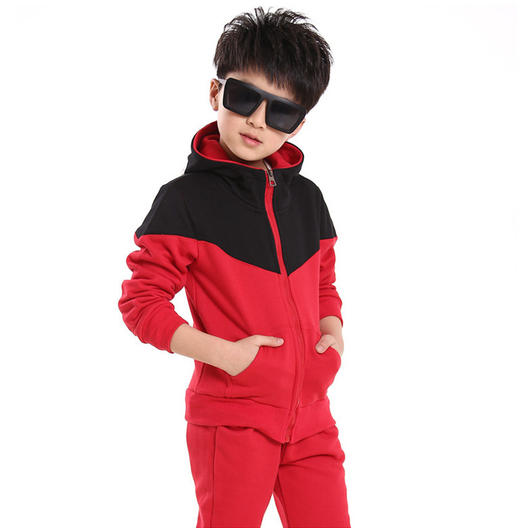 2015新款秋装 高品质韩版时尚中小童套装 纯棉儿童套装 厂家***