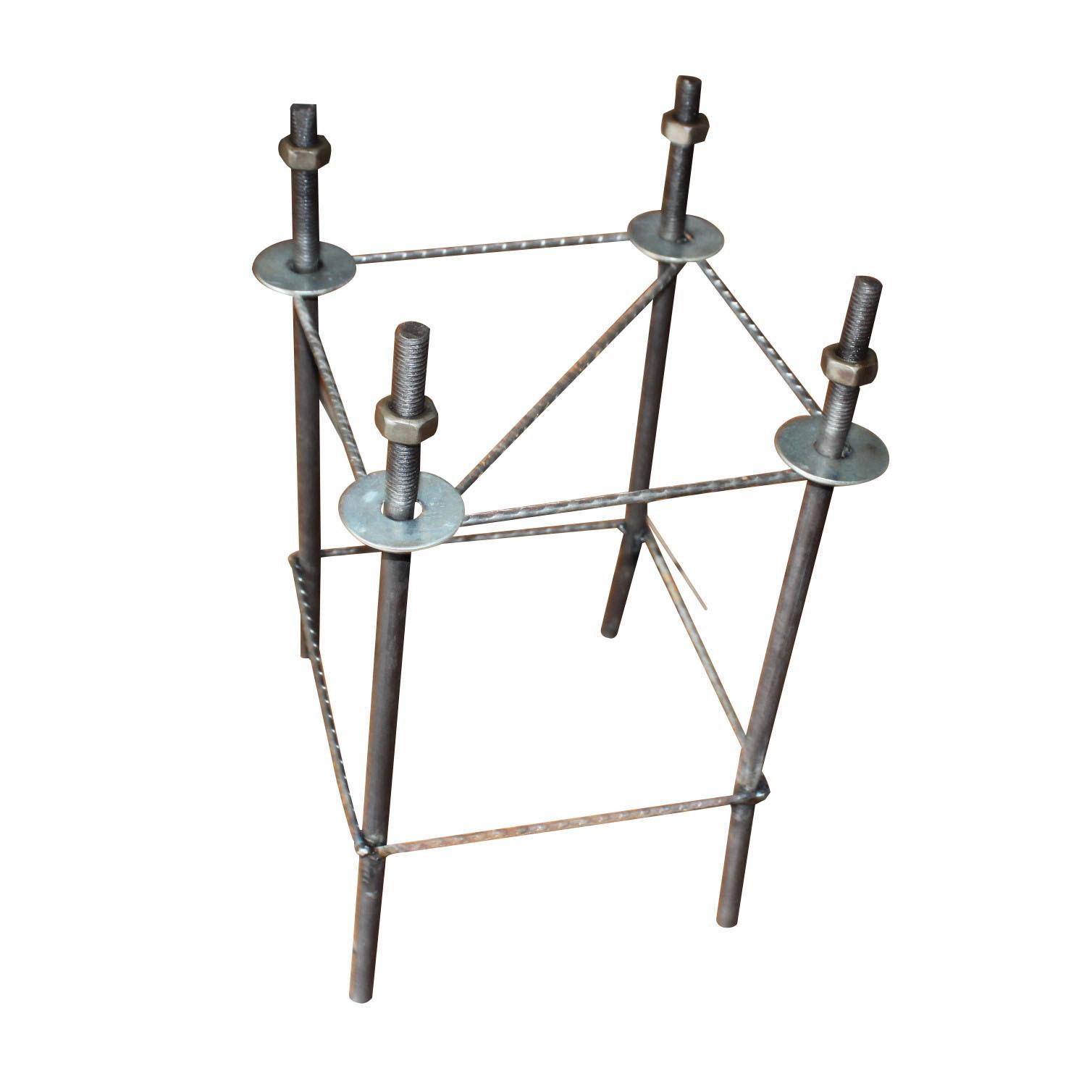 【生产路灯基础预埋件钢筋笼高杆灯配件地笼