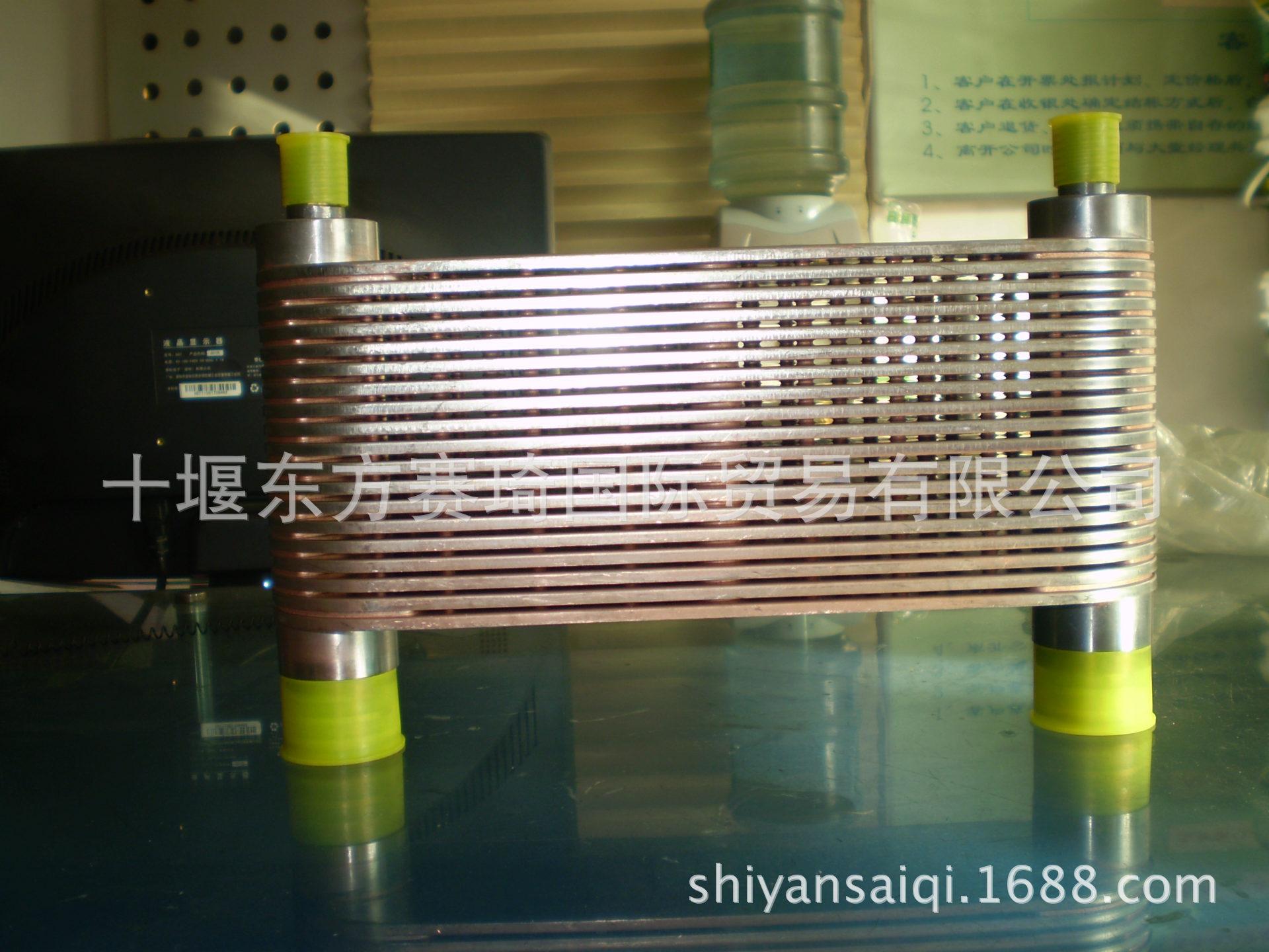 重庆康明斯发动机K19机油冷却器芯机油散热器