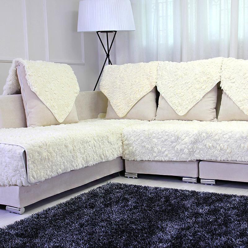 长毛绒真皮沙发垫防滑沙发垫坐垫毛绒沙发垫欧式木沙发垫