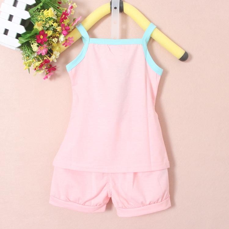 童套装 宝宝夏装2014夏季新款韩版儿童套装 网上开店加盟代理 童装分