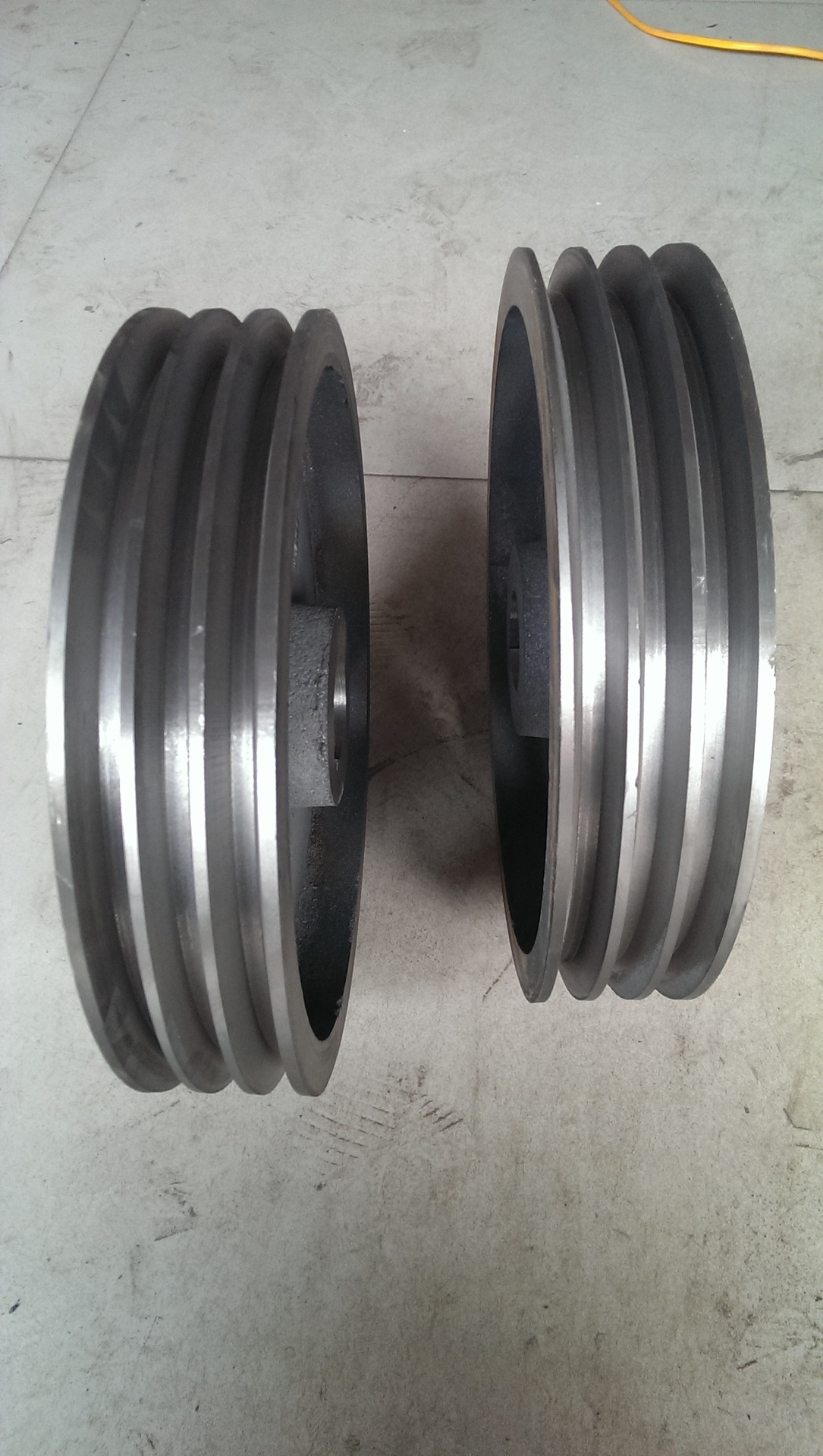 供应01220国标220B型三槽铸铁皮带轮图片_5