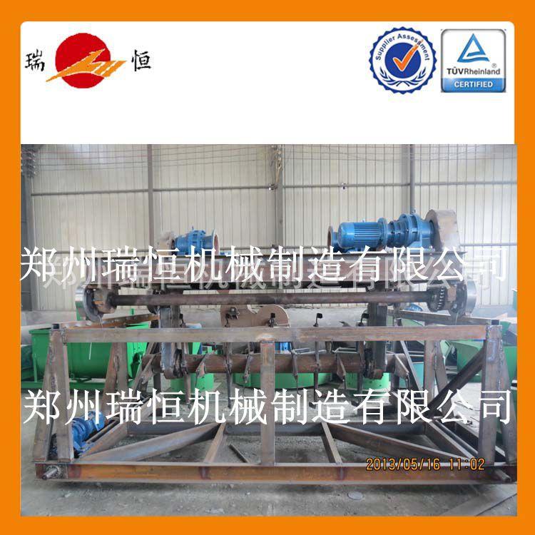 堆肥发酵设备导轨式翻抛机