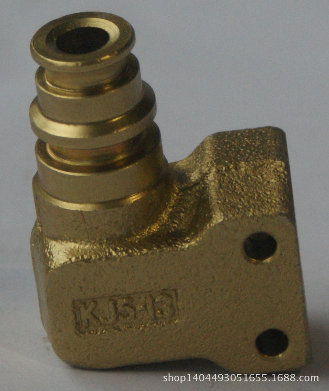 矿用 煤矿液压支架胶管连接 异径弯头DN32G/16M