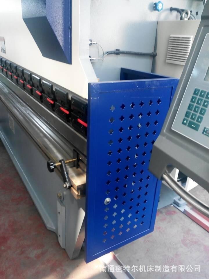 小型液压数控折弯机 wc67k-80/2500 折5mm厚板材的折弯机 直销图片