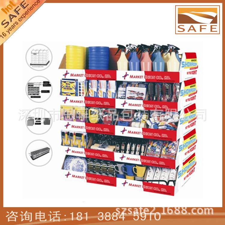 【【思孚/设计生产】化妆品纸展示台,生活用品室内设计装饰的色彩图片
