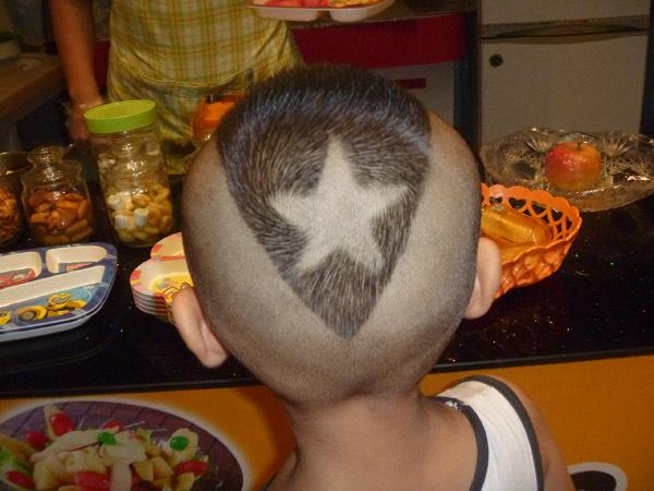 儿童个性造型理发器 婴儿发型雕刻剪雕发器 模型模板刻字电推剪图片