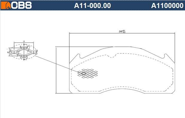 供应WVA29147,商用车刹车片钢背,,大巴钢背,,精冲钢背