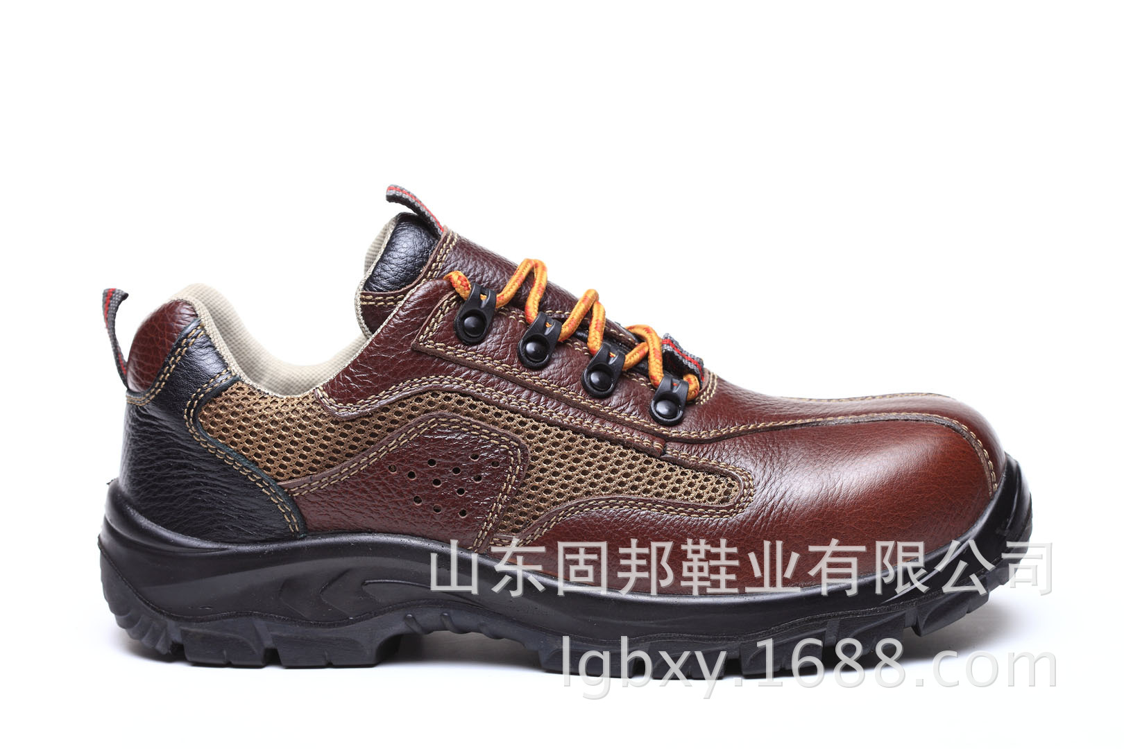 供应头层牛皮休闲款劳保鞋 多功能安全鞋 凉鞋 登山鞋GB-8811
