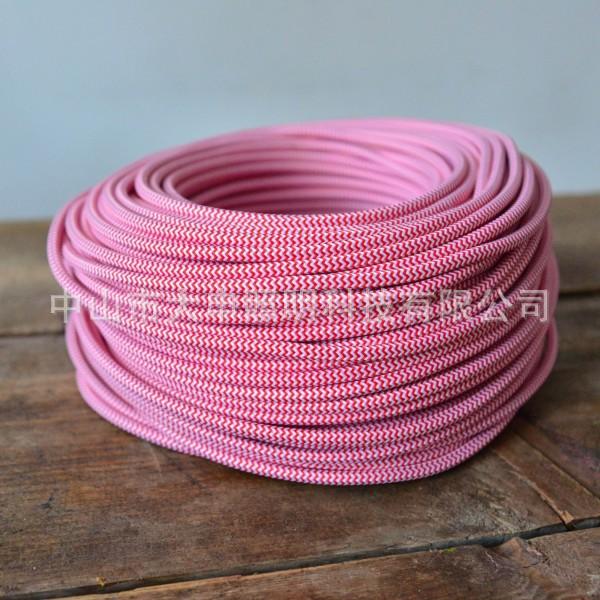 电线 电子线 编织线 CE VDE UL双绞线 彩色护套线 现货供应
