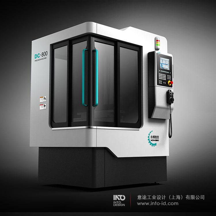 大型设备外观设计 机械机床外观设计 大型装备外观设计