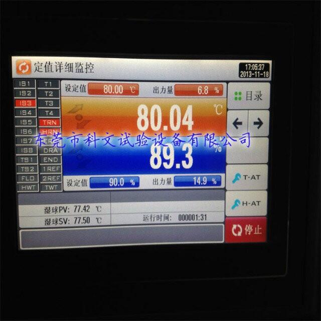 KW-890仪表界面