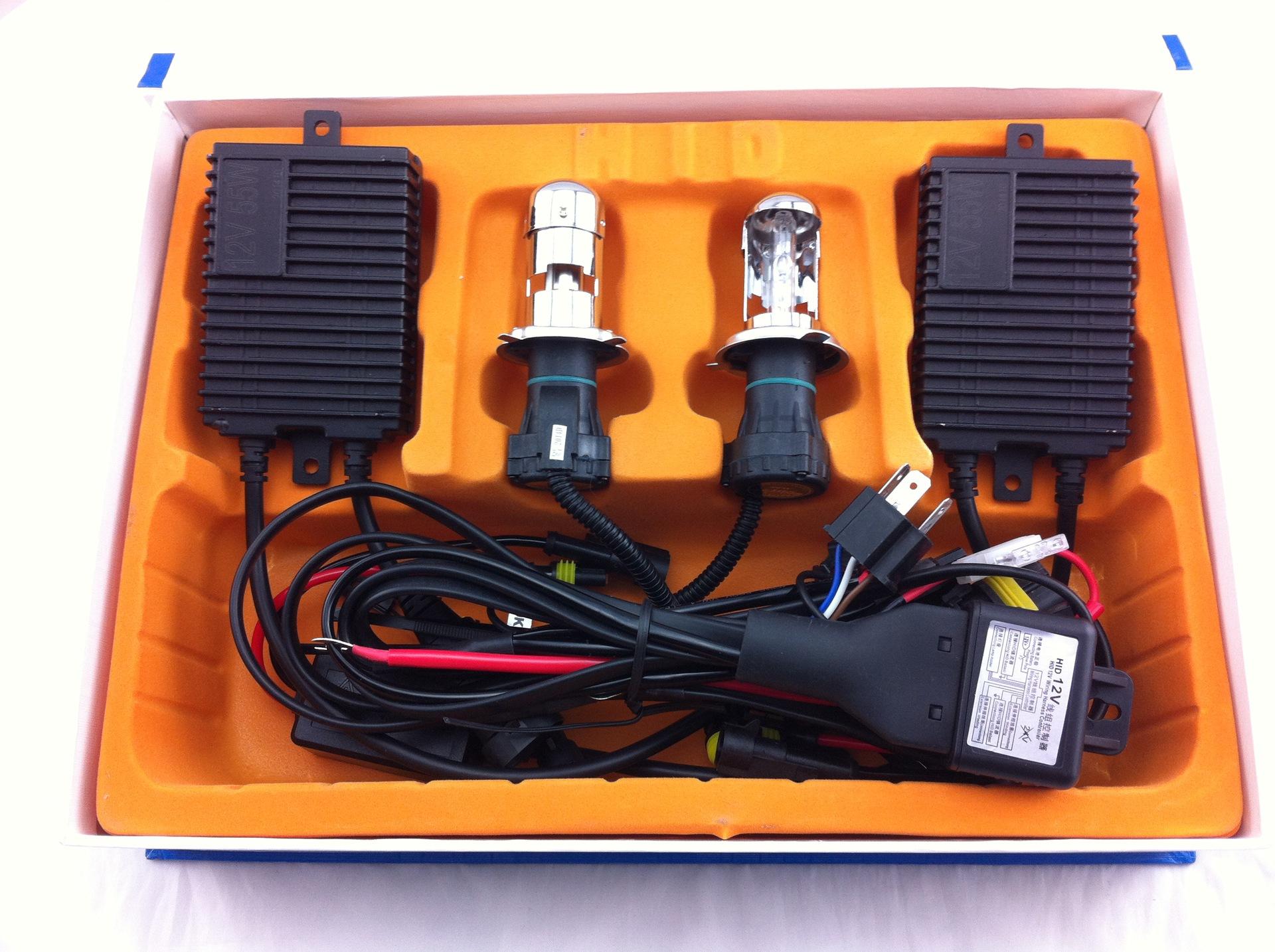 12V55W一秒快启套装/伸缩灯2106/高低灯/远近灯/摆角灯