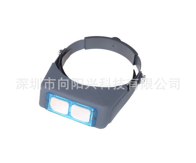 厂家直销-81007B头戴工业维修操作放大镜光学镜片  维修放大镜