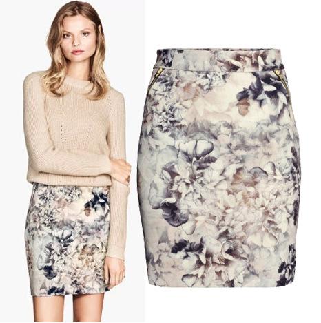 欧洲站女装欧美风印花修身包臀裙 拼接双拉链高腰短裙 半身裙