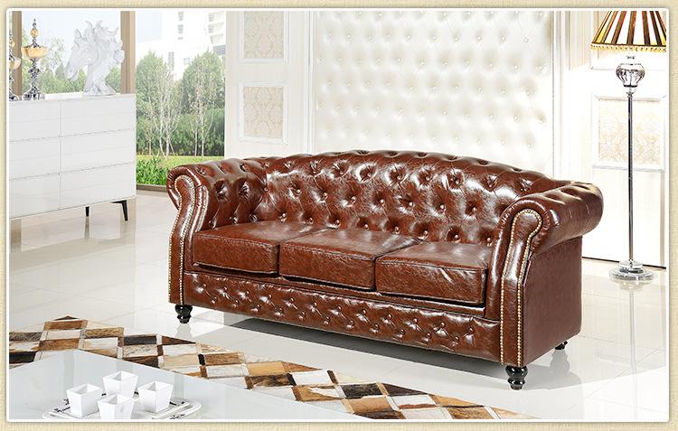客厅家具批发 欧式家具沙发 三人座沙发图片_4