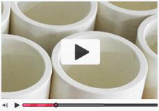 DECO德科行星式球磨机专用氧化锆陶瓷球磨罐展示 立式