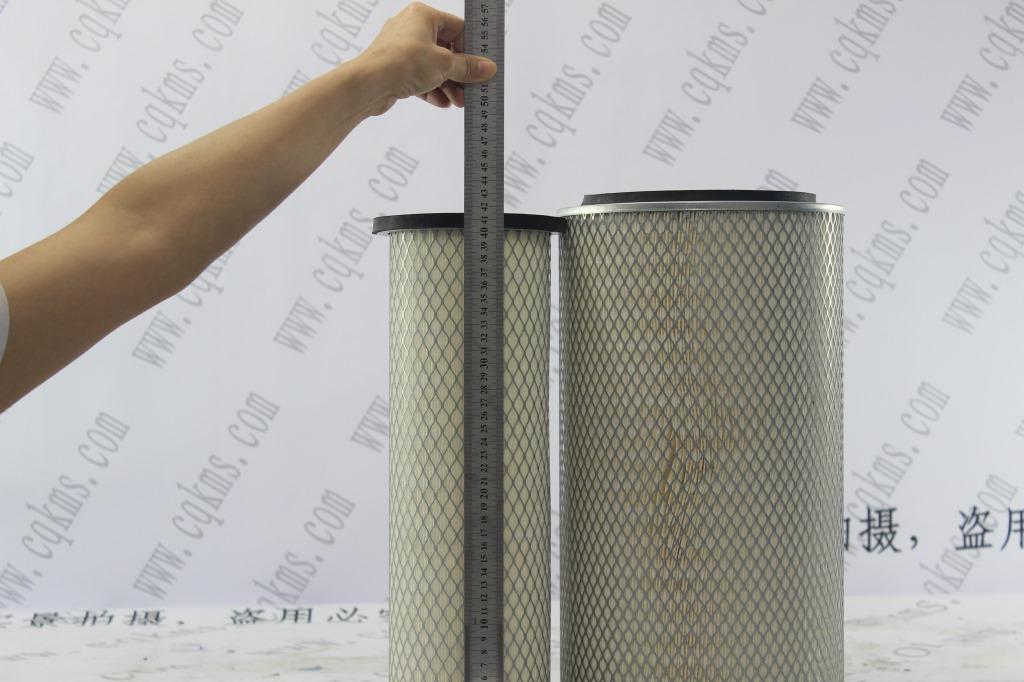 KMKL-0124++929空气滤清器kw2342空滤AF25270-AF25271外芯参考尺寸230X135X430内芯参考尺寸150X100X410毛重3.6Kg净重2.8Kg-7