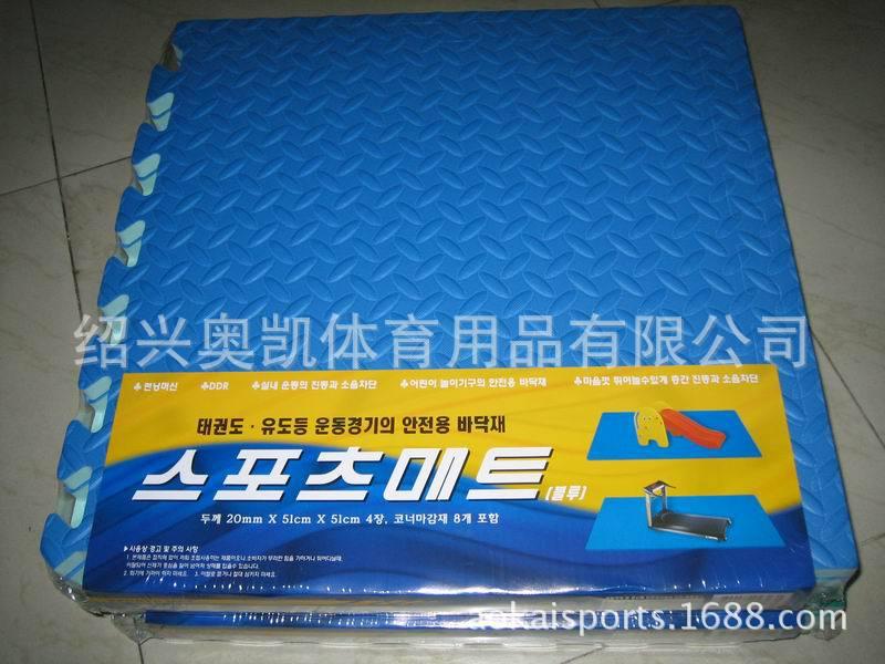 厂家直销EVA儿童地垫 环保泡沫地板 拼图爬垫 树叶纹 60X60