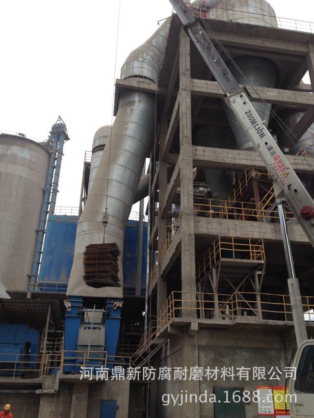 耐磨陶瓷产品在水泥行业立磨辊轴密封圈的应用