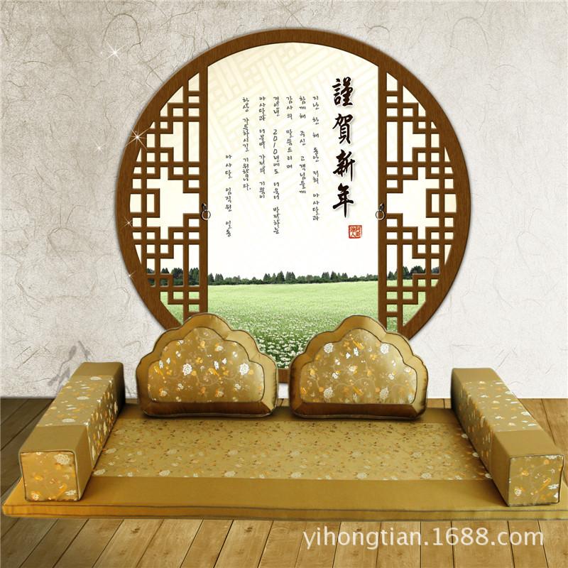 一鴻天 中式羅漢床墊沙發墊靠墊方枕海綿墊子定制紅木沙發