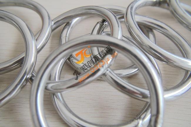 大量现货供应M8*80 201不锈钢圆环/不锈钢圆圈