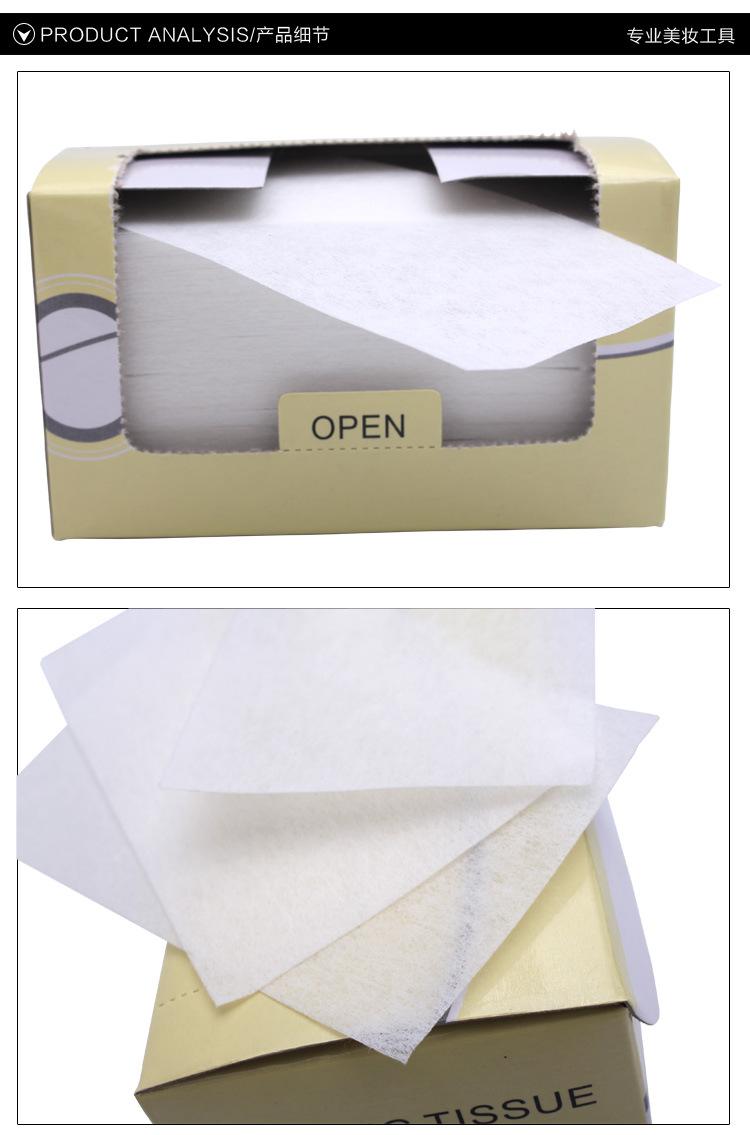 专业美发冷烫烫发纸超薄定位纸电发纸卷发杠用纸烫发工具可重复用 -