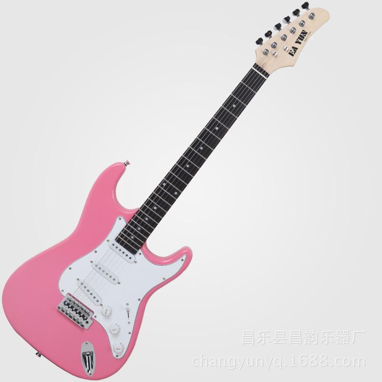 乐器ST电吉他工厂直销10色可选